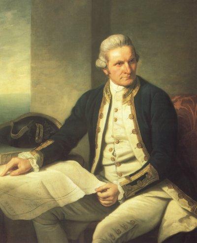 Captain James Cook,