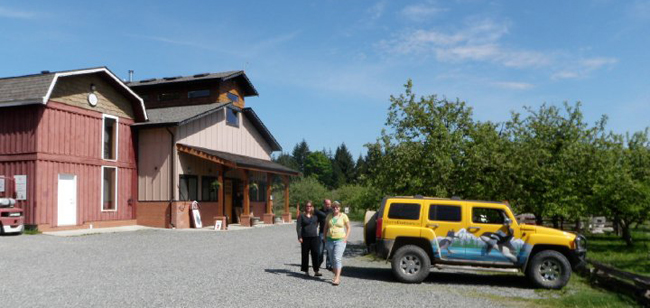 Merridale Estate Cidery Vancouver island BC