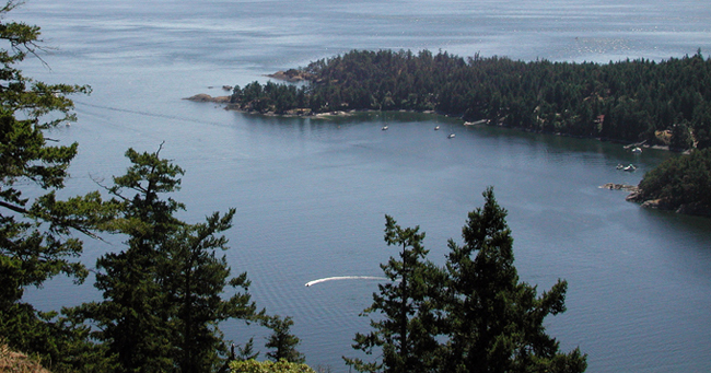 South Pender Island