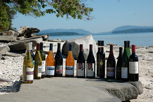 Wines Vancouver Island BC