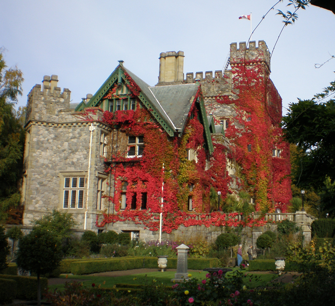 Hatley Castle and Gardens   Birds of a Feather B&B