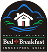British Columbia Bed and Breakfast InnKeepers Guild inspected and approved