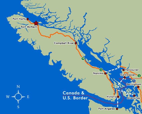 Ferry Service From Washington State To Vancouver Island