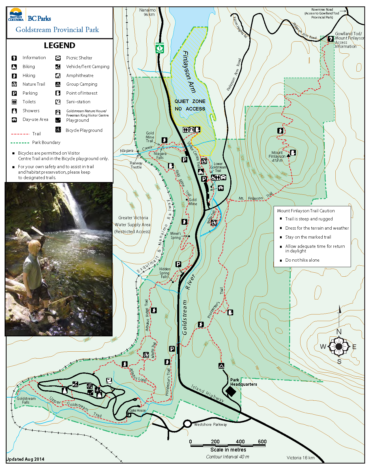 Goldstream Park Map