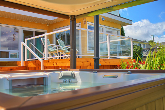 Victoria Bed And Breakfast Hot Tub