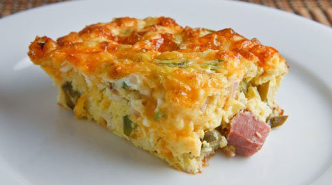 Ham And Egg Casserole Birds Of A Feather B Amp B