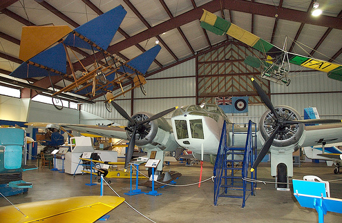 BC Aviation Museum in Greater Victoria